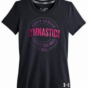 Girls Under Armour® Gymnastics Tee from from GK Elite