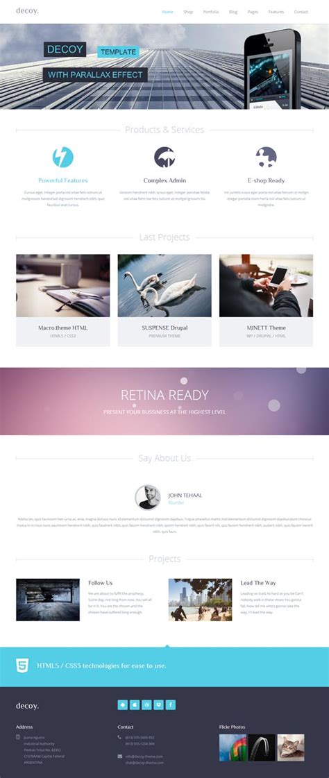 Html5 Template Html5 Responsive Website Templates Web Design Graphic