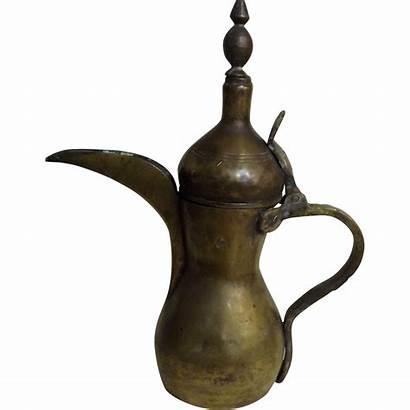 Coffee Pot Arabic Dallah Traditional 19th Century
