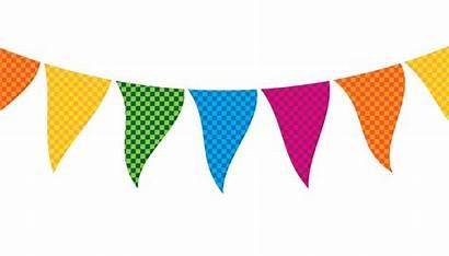 Clipart String Flag Banner Festival Transparent Star