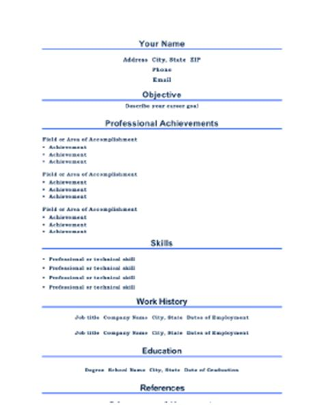 16394 business resume template free 2 professional resume a4 template