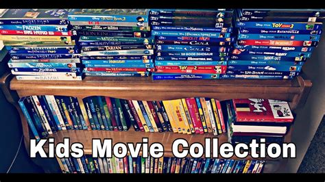 My Kids Dvd & Blu-ray Movie Collection!!