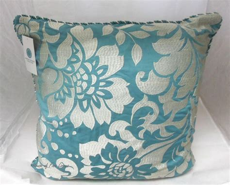teal and pillows teal toss pillows doherty house contemporary style