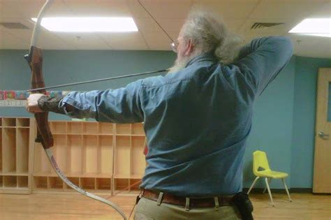 fundraiser  bruce strong archery equipment
