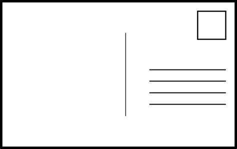 carte postale post lettres images vectorielles gratuites