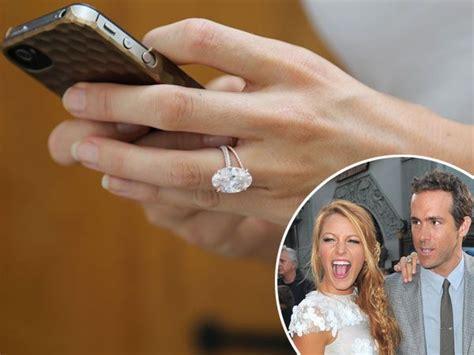 ryan reynolds splashed   blake livelys wedding ring