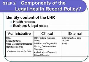 legal health record definition and standards pdf With documents management definition