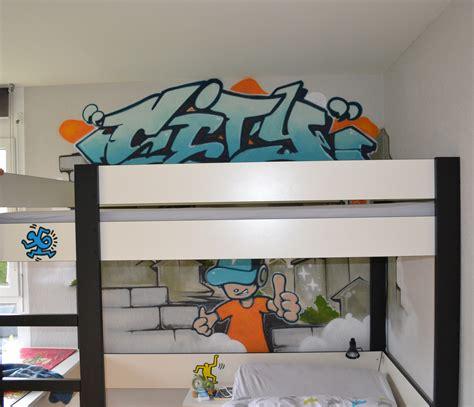 deco mur chambre ado déco graffiti pour une chambre d 39 enfant à lausanne une