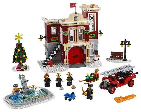 lego creator winter village fire station figurescom