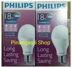 Jual Lampu Led Philips 18 Watt Bohlam 18w    Philip Putih