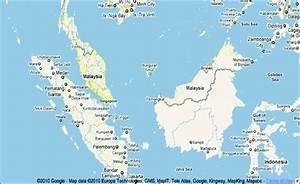 Malaysia Map  Source  Google Maps