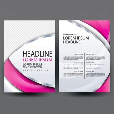 Brochure Template Design Free by Brochure Template Design Vector Premium
