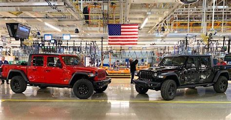 gladiator toledo plant  jeep