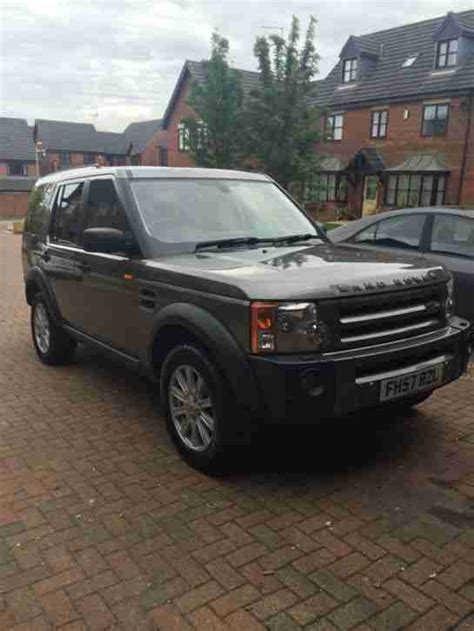 land rover discovery 2007 2007 land rover discovery tdv6 se a grey car for sale