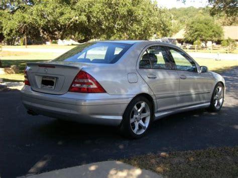 C230 sport 4dr sedan (2.5l 6cyl 6m). Purchase used 2007 Mercedes-Benz C230 Sport Sedan 4-Door 2.5L in