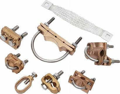 Grounding Lightning Protection Connection Clamps Lighting Conductor