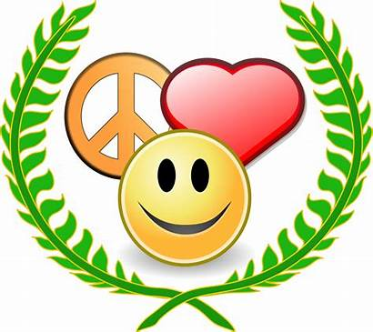 Peace Psychology Svg Happiness Positive Clipart Happyness