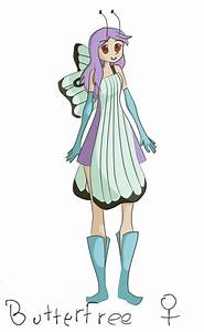 Butterfree Gijinka- Colored by Airigh on DeviantArt