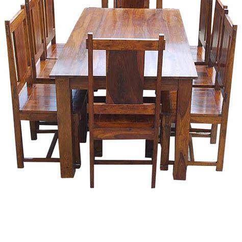 Santa Cruz Transitional Dining Table And Chairs Set