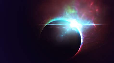 outer eclipse de lespace papier peint allwallpaperin