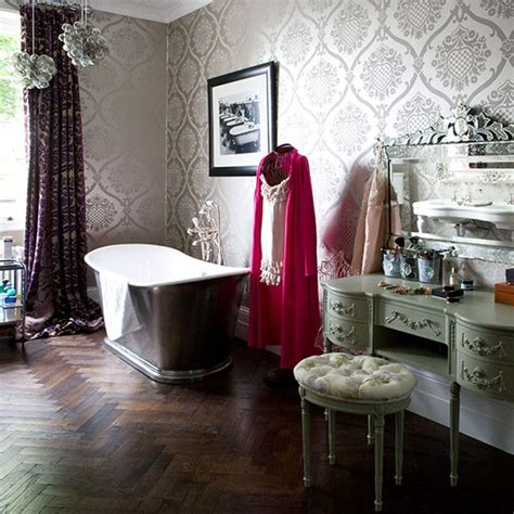 glamorous bathroom ideas glamorous bathroom with dresser and wooden
