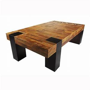 wooden coffee table with wonderful design seeur With unique large coffee tables