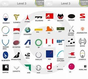 Logo Quiz Extra Levels Lösungen: Expert Level 3 - GIGA