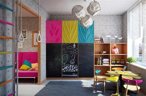 salle de jeux pour ado am 233 nagement chambre d enfant dans un appartement design feria