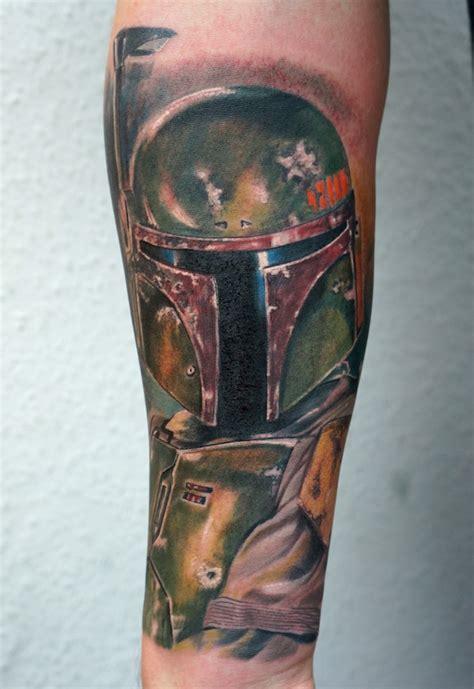 Boba Fett Shoulder Armor Tattoo