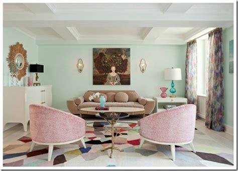 pastel color palette  interior design  themed