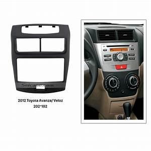 202 102mm Double Din 2012 Toyota Avanza Veloz Car Radio