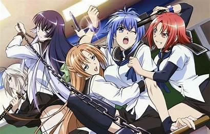 Anime Fighting Each Babes Kampfer Battling Otaku