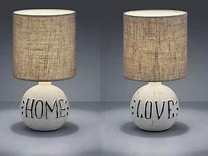 Runde Tischdecken Landhausstil : runde tischleuchten rustikaler keramikfu mit ~ Watch28wear.com Haus und Dekorationen