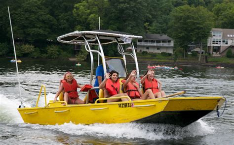 Rockproof Boats by Delaware River Jet Boat Tours Fleet