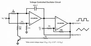oscillator vco with range of 02 hz to 270 hz With vco schematic