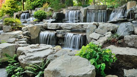 waterfall feature water features take root with dennis 7 dees
