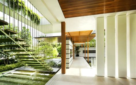 style house plans with interior courtyard outdoor house plan with interior courtyard and rooftop garden
