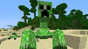 Minecraft | Mutant Creeper Mod! WTF?! - YouTube