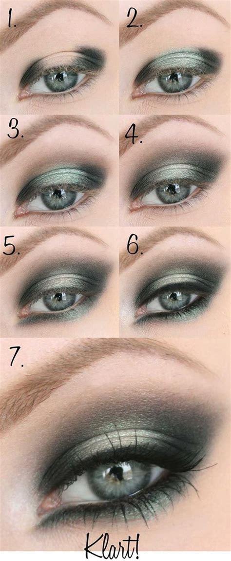 smokey eye tutorials  night  pretty designs