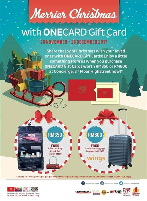 xmas gift card promotion onecard gift card promotion loopme malaysia