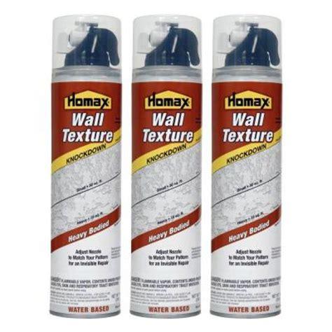 homax wall texture knockdown aerosol spray water based