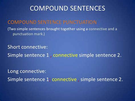 sentences simple  compound