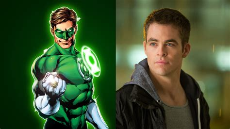 cast of the green lantern chris pine to play green lantern reactor