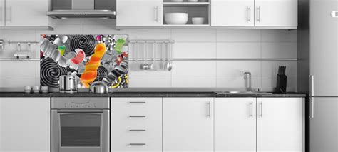 fond blanc en cuisine id 233 e credence cuisine noir et blanc cr 233 dences cuisine