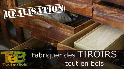 comment faire des tiroirs 201 tabli shaker 18 comment faire des tiroirs classiques tout en bois
