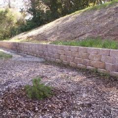 retaining wall on steep slope keystone retaining wall steep slope palomar pinterest