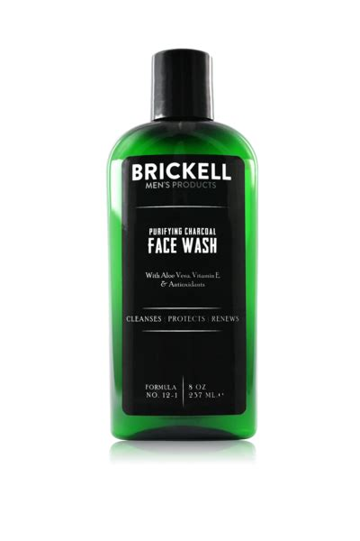 The Best Face Wash For Men | Brickell Purifying Charcoal