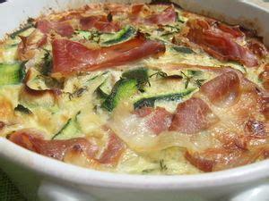 cuisine actuelle hors s駻ie clafoutis de courgettes au jambon cru dans la cuisine de fabienne