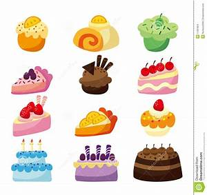 Cartoon cake stock vector. Illustration of cake, fake ...