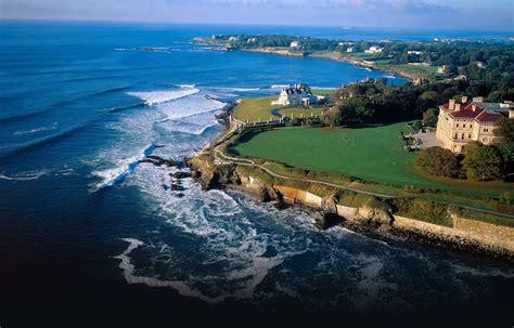 facts  rhode island map beaches newport ocean